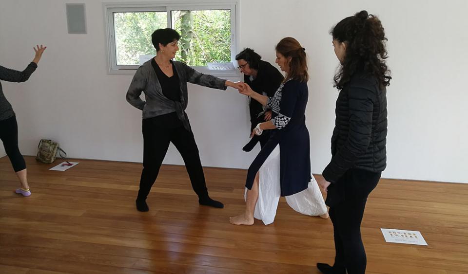 אימון קבוצתי בצ'י קונג
